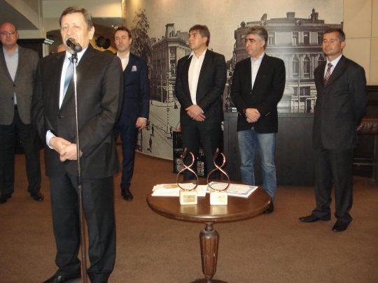 Press conference and annual meeting of ABA 2014