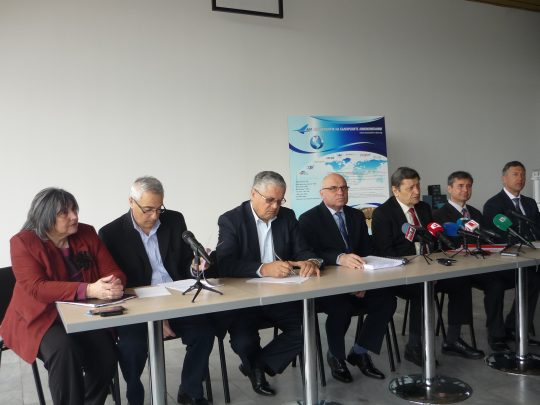 Press conference and annual meeting of ABA 2015