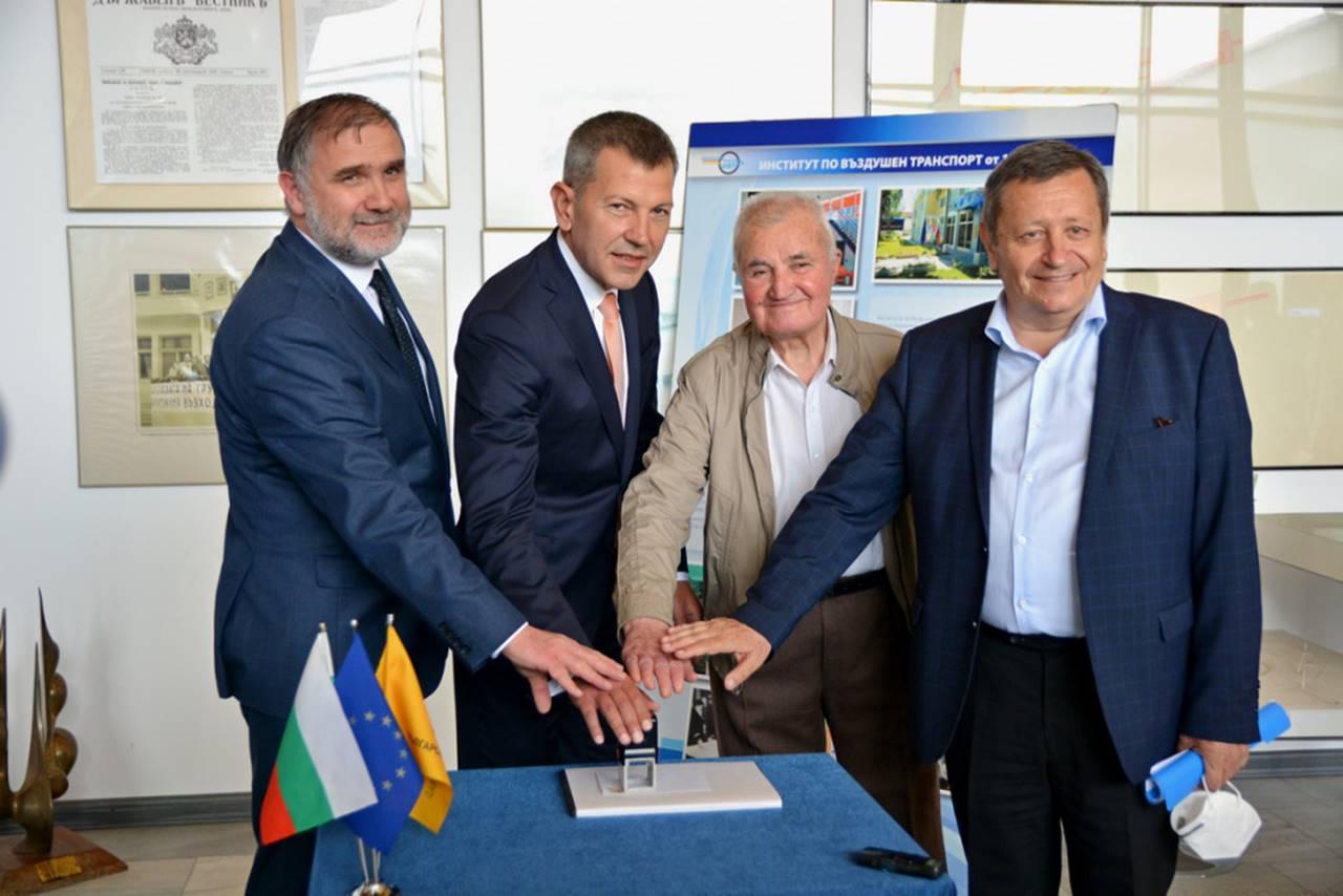 Министър Георги Тодоров: Институтът по въздушен транспорт се установи като ковачница за кадри за авио индустрията